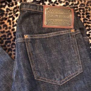 Vintage Dolce & Gabanna brass tag jeans
